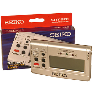 Chromatic Tuner, Sound Reference, Seiko