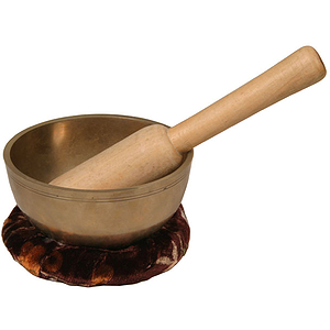Singing Bowl, Bronze, 4 1/2""