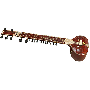 Sitar, Standard, Single Toomba, Burgundy