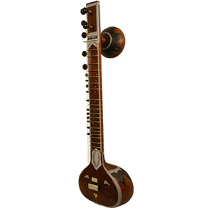 Sitar, Standard, Dark, Padded Nylon Case