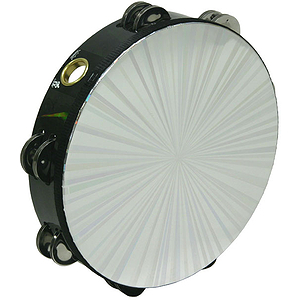 "Remo Tambourine, Radiant, 10"" X 2 Rows"