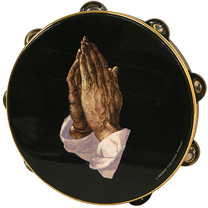 "Remo Tambourine, 10"", Praying Hands"