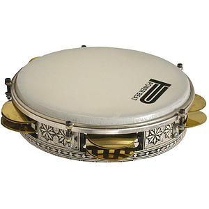 "Egyptian Tambourine, 9"", Tunable"
