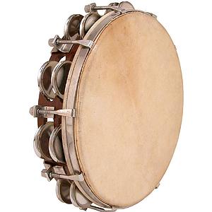 """Tambourine, 10"""", Tunable"""