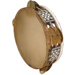 """Egyptian Tambourine, 8 1/2"""""""