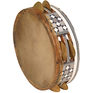 Egyptian Tambourine, 6 1/4&quot;