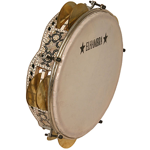 Egyptian Tambournine, Tunable, 9&quot;, Wave