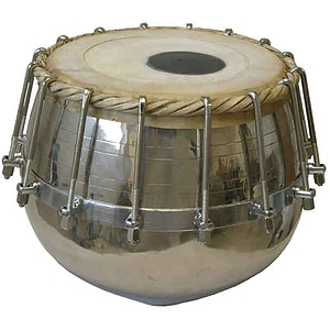 Tabla With16 Bolts, Brass Bayan Only