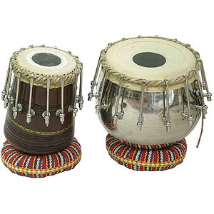 Tabla Set, 16 Bolt Tuning, Brass Bayan