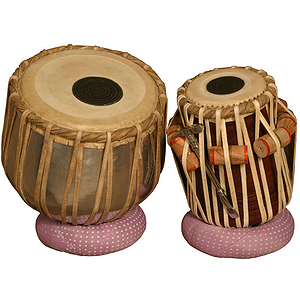 Tabla Set, Aluminum Bayan