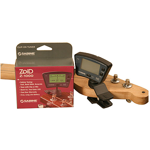 Zoid Z-1000 Clip-On Tuner by Sabine