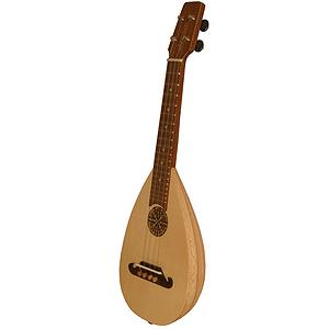 Baroq-ulele T, Concert, Lacewood, Tuners