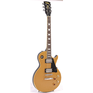 Vintage Guitars Icon V100 Electric Guitar - Distressed Gold Top
