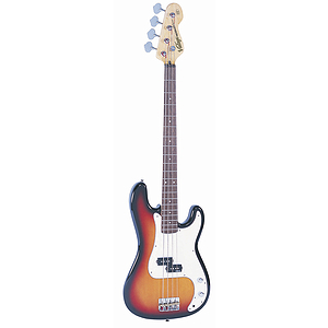 Vintage Guitars V4 Bass Guitar - Sunburst