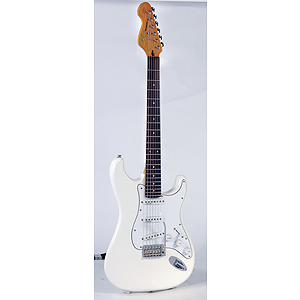 Vintage Guitars V6 Fillmore Electric Guitar - Olympia White