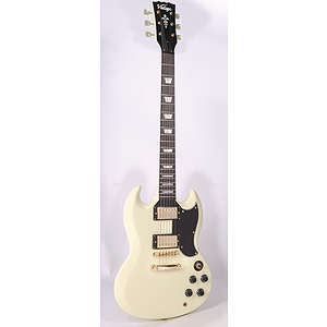 Vintage Guitars VS6 Electric Guitar - Vintage White