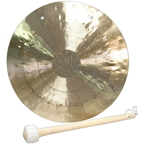 "Wind Gong, 10"" (25cm), Beater (WDB25)"
