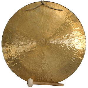 """Wind Gong, 39 1/2"""" (100cm) Beater(WDB40)"""