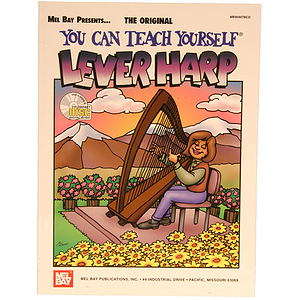 Mel Bay You Can Teach Yourself Lever Harp