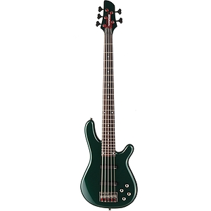 Fernandes Gravity 5 Deluxe 5-String Bass Guitar - Dark Army Green