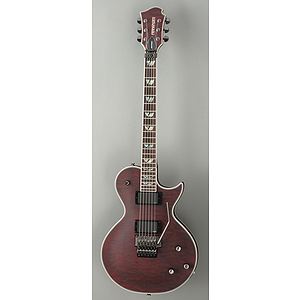 Fernandes Monterey Deluxe Tremolo Electric Guitar - Wine Red Satin