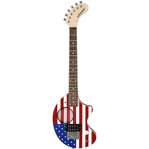 Fernandes Nomad Electric Travel Guitar - US Flag