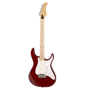 Fernandes Retrorocket Deluxe DG Electric Guitar - Candy Apple Red