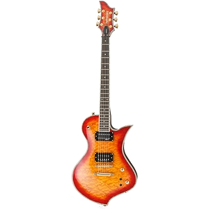 Fernandes Ravelle Elite Electric Guitar - Cherry Sunburst