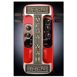 Gig-fx Mega-Wah Stereo Multi-Wah Pedal