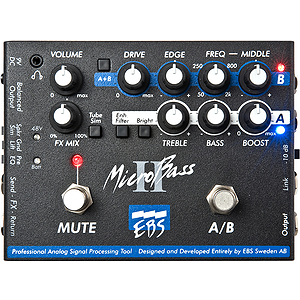 EBS MicroBass II Preamp