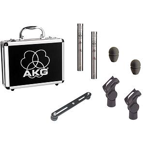 AKG C 451 B/ST Small-Diaphragm Condenser Microphone - Stereo Pair