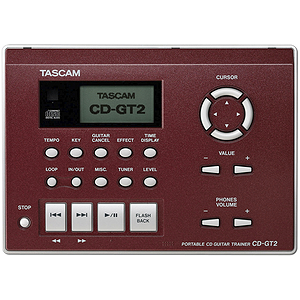 Tascam CD-GT2 Portable Guitar Trainer