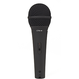 Astatic CTM-44 Handheld Cardioid Dynamic Vocal Microphone (on/off switch)