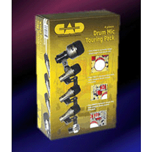 CAD DMTP-4 Four-piece Drum Mic Touring Pack