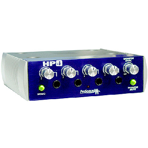 PreSonus HP4 Four Channel Headphone Distribution Amplifier