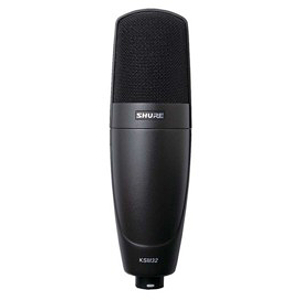 Shure KSM32/SL Embossed Single-Diaphragm Condenser Microphone - Charcoal Gray Finish