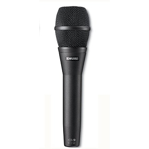 Shure KSM9-CG Cardioid/Supercardioid Condenser Vocal Microphone - Charcoal Black Finish