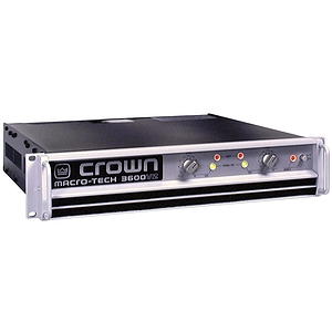 Crown MA-3600VZ Power Amplifier