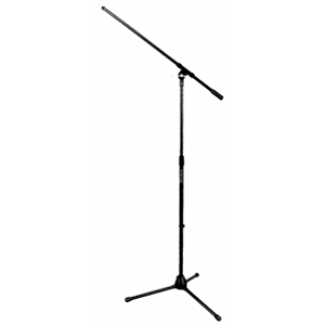 On-Stage Stands Euro Boom Tripod Microphone Stand with Boom - Black