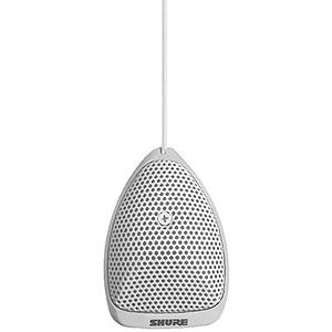 Shure MX391W/C Microflex Cardioid Condenser Boundary Microphone - White