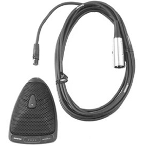 Shure MX393/O Omnidirectional Condenser Boundary Microphone