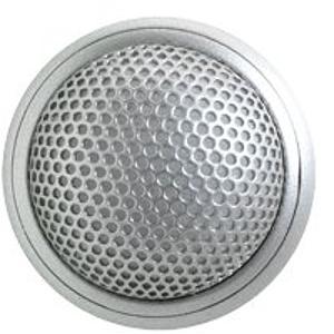 Shure MX395AL/BI Microflex Low Profile Bidriectional Boundary Microphone - Aluminum