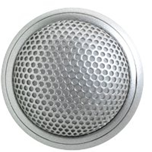 Shure MX395AL/C Microflex Low Profile Cardioid Boundary Microphone - Aluminum