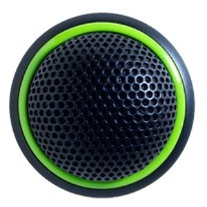 Shure MX395B/BI-LED Microflex Low Profile Bidriectional Boundary Microphone - Black/LED