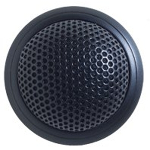 Shure MX395B/C Microflex Low Profile Cardioid Boundary Microphone - Black