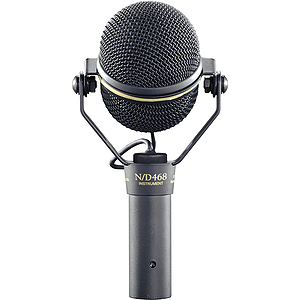 Electro-Voice N/DYM468 Dynamic Instrument Microphone - Supercardioid