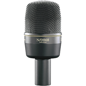Electro-Voice N/DYM868 Dynamic Kick Drum Microphone - Cardioid