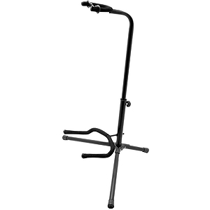 On-Stage Stands XCG-4 Classic Tubular Guitar Stand - Black
