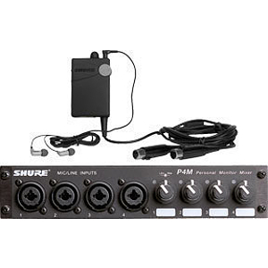 Shure PSM 400 Wired Personal Monitor System with Onstage Mix Control, P4MHWE3