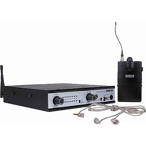 Shure PSM 700 Wireless Personal Monitor System With SCL5 Earphones, P7TRE5